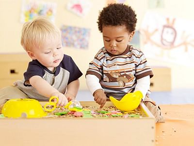 Even toddlers use maths while playing