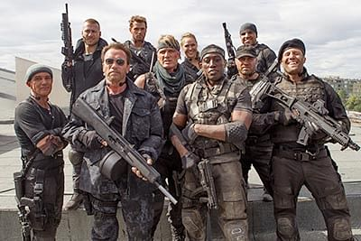 The Expendables 3: Get high on action