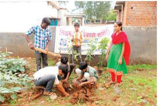 Hariyali Mahotsav continues in districts