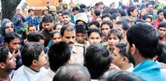 Severed head of calf found, Hindu activists register protest