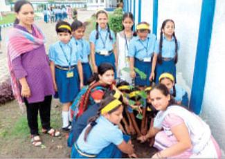 Podar International School celebrates Hariyali Mahotsav
