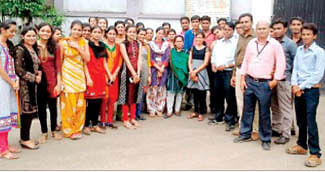 MIM students on industrial visit