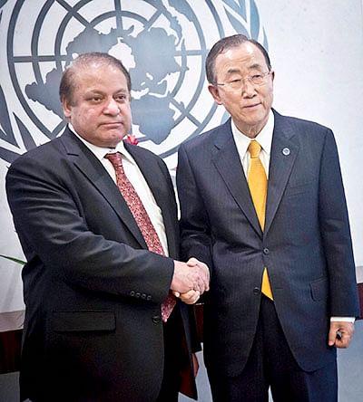 Nawaz Sharif rakes up Kashmir  issue at UN General Assembly