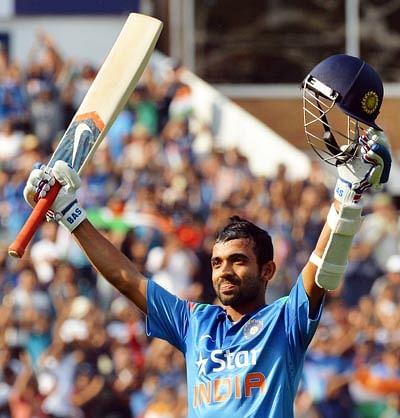 Rahane, Dhawan shine; India clinch ODI series