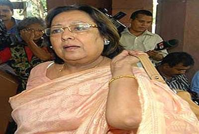 There should be no problem in saying Bharat Mata Ki Jai Najma Heptullah