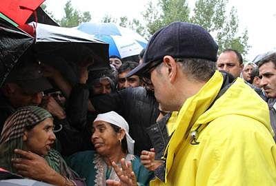 Floods, Omar Abdullah