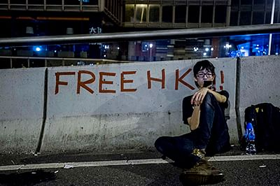 UK asks China to protect right to protest in HK