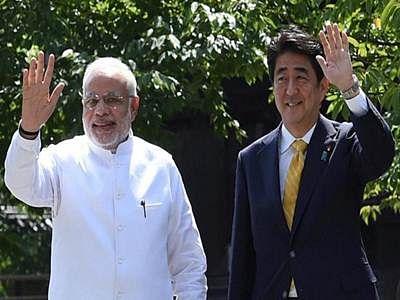 Narendra Modi, Shinzo Abe
