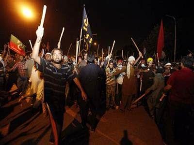 Pakistani Protestors