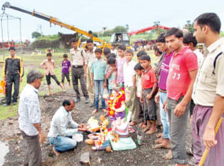 Anant Chaturdashi celebrated with fervor