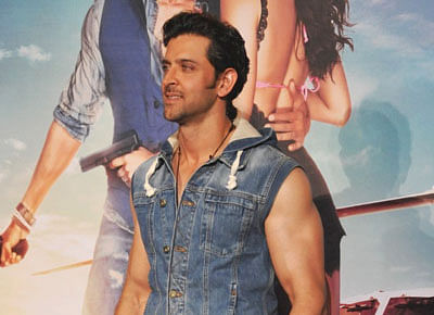 Hrithik sports his own brand at recent events