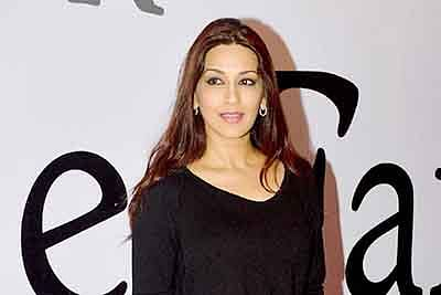 Sonali Bendre enters fiction space on TV