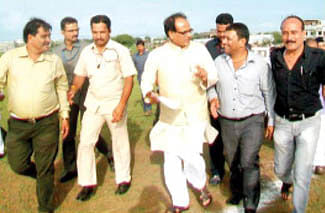Chauhan condoles minister Arya's kin