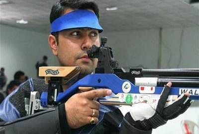 Indian men's team finish 4th in rifle 3 positions event