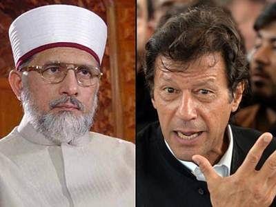 Imran Khan, Tahir-ul-Qadri booked under anti-terrorist act