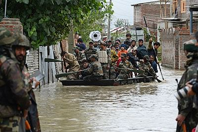 Kashmir sees shutdown on first anniversary of worst floods