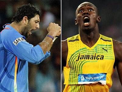 Bolt set to face off with Team Yuvraj in cricket friendly