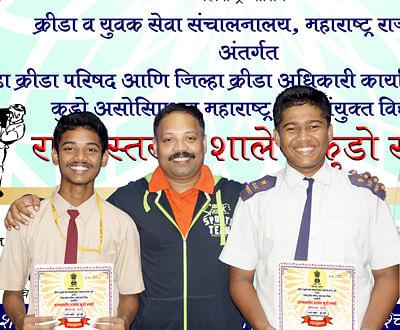 Vighnesh, Prathemesh emerge champions