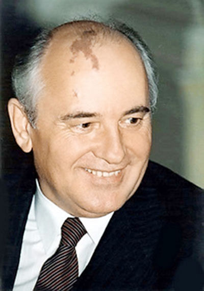 Gorbachev hospitalised, determined to fight for life
