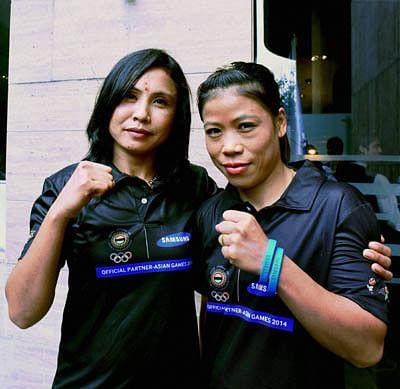 Mary, Sarita strike gold; Perfect 10 for boxers at SAG