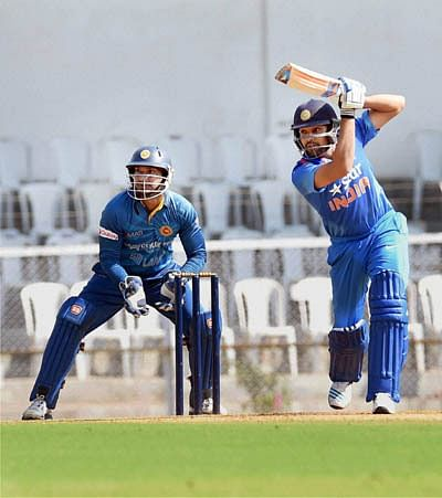 India eye series win in Vizag