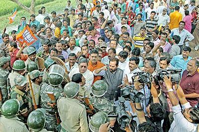 BJP leaders arrested in strife-torn Birbhum