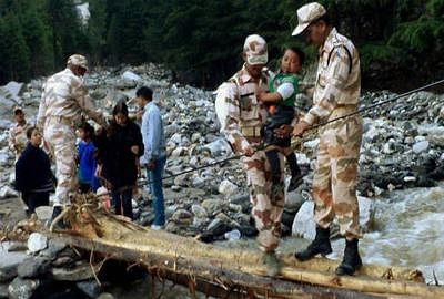 IAF rescues six seriously injured ITBP personnel