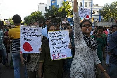Jadavpur unrest: Students continue hunger strike
