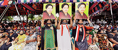 Tamil stars fast for jaya, admk attacks judge