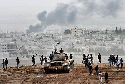 Kurds thwart IS in Kobane, Turkey boosts involvement