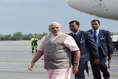 Modi back to india