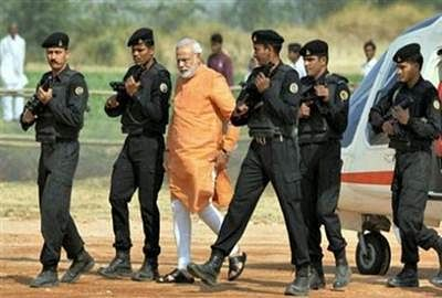Security beefed up in Kashmir ahead of PM's visit