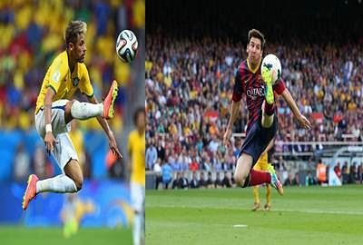 Neymar, Messi strike to ease Barca past Ajax
