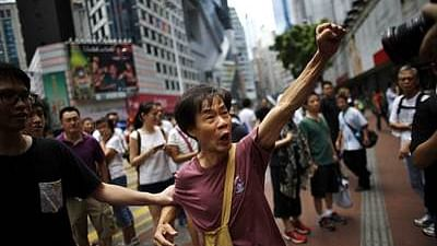 Protest in Hongkong