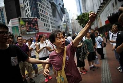 HongKong Occupy leader says protests will spread 'like flowers'