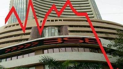 Sensex Red down