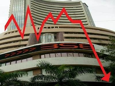 Sensex plunges 245 pts in early trade, Nifty dips below 8,200