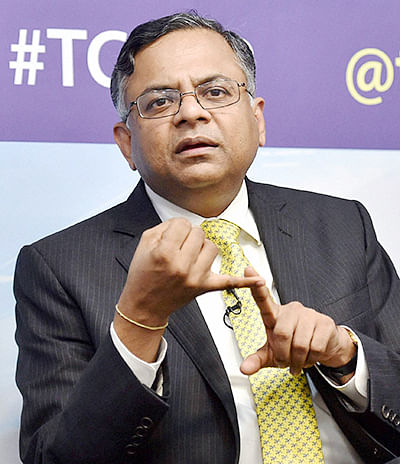 TCS net rises 13% to Rs 5,244 cr