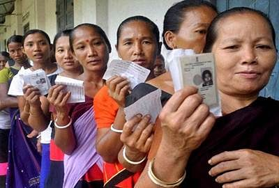 Voting underway in Manipur by-election