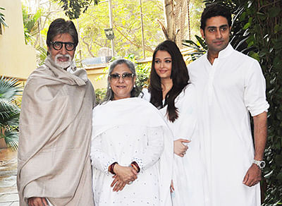 It's family over hubby for Aishwarya…
