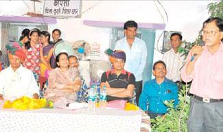District Collector & MLA attend Gram Choupal