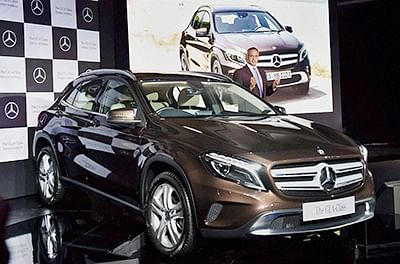 Mercedes launches GLA Class in India