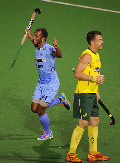 Sunil strikes in India's win over Australia