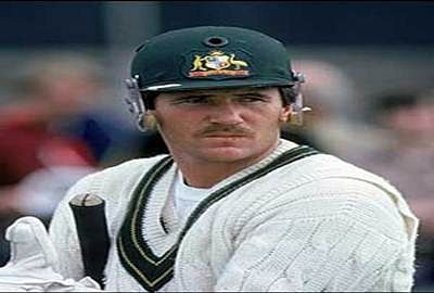 Allan Border blasts the batsman