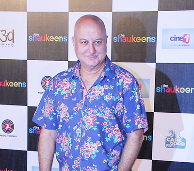 """Not yet reached """" interval"""" stage of my career: Anupam Kher"""