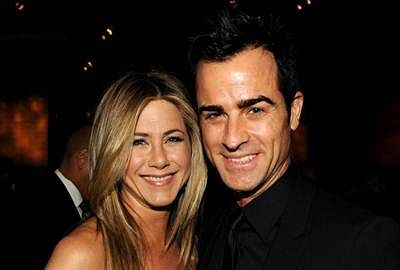 Jennifer Aniston admits seeing Justin Theroux for first time made her 'sweat'