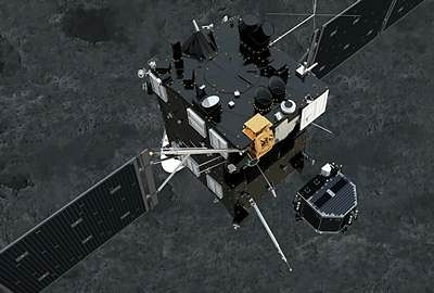 Rosetta's Philea space probe sends data from comet surface before going to sleep