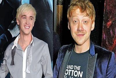 Tom Felton pranks Harry Potter`co-star Rupert Grint by posing as fan