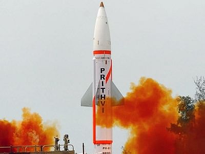 India test-fires indigenously developed Prithvi II missile from Chandipur