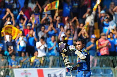 Win over England: Parting gift for Sangakkara, Jayawardene